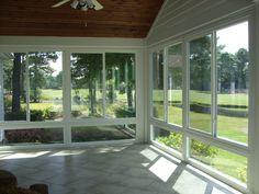 Loving this #sunroom conversion in Leland, North Carolina! www.porchconversion.com