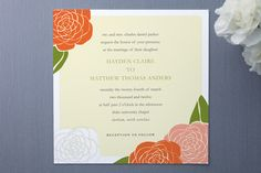 Garden of Joy Wedding Invitations by SimpleTe Desi... at Minted.com