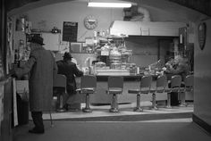 Greg Girard - Commodore Lanes, Lunch Counter. 1973