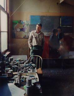 Richard Diebenkorn by Fred Lyon