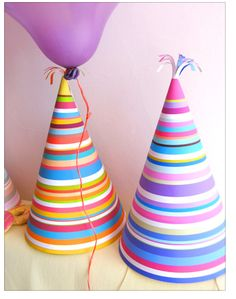 make your own festive party hats