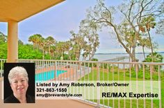 Amazing luxury condo! 4 beds, 4.5 baths, riverfront, amenities & more. $550,000! #Brevard #SpaceCoast #Florida [Location is general area, not exact]