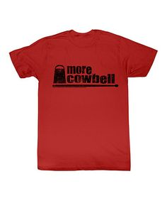 Take a look at this Red 'More Cowbell' Tee - Toddler & Kids by American Classics on #zulily today!