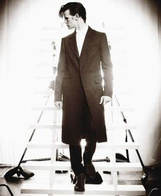 Matt Smith, in a nearly-trench coat. You're welcome.