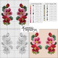 "Gallery.ru / pustelga - Альбом ""small маленькие схемы"" Mini Cross Stitch, Cross Stitch Borders, Cross Stitch Samplers, Cross Stitch Flowers, Cross Stitch Charts, Cross Stitch Designs, Cross Stitching, Cross Stitch Patterns, Hand Embroidery Stitches"