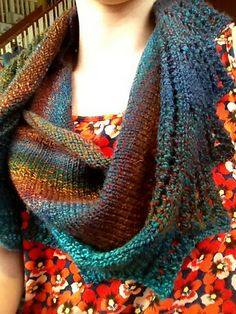 Ravelry: HometownKnits' Sunlight on the Forest Floor /// knit with Dyed In The Wool from Spincycle Yarns /// colorway: Shades of Earth