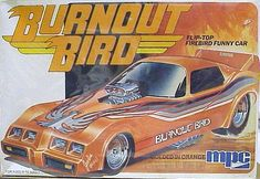 MPC Burnout Bird Firebird Funny Car box art
