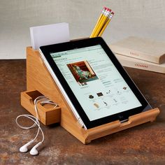 iPad Station would be awesome for the kitchen @Caitlin Leavitt Wernli @Katie Leavitt
