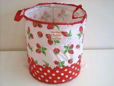 Strawberry Laundry Basket