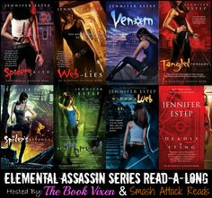 Elemental Assassin Series Read-a-Long: SPIDER'S REVENGE Discussion