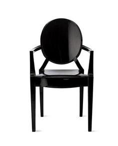 Kartell Louis Ghost Chair - Black
