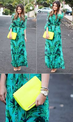 Printed Dress - Thassia Naves