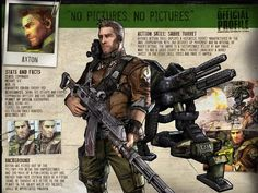 Axton - the Commando character in Borderlands Cool turret. Borderlands Series, Tales From The Borderlands, Borderlands Cosplay, Best Games, Fun Games, Video Game Art, Video Games, Character Concept, Concept Art
