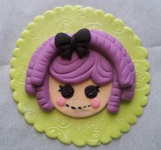 My 1st Lalaloopsy fondant topper. Just practicing for a birthday celebrant this month. By: Sheila Marie Matienzo