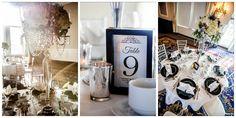 LOVE this James bond themed Gala - Silver, black and white glam  Edmonton Wedding Planner - Edmonton Event Planner