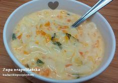 Betty gotuje: Zupa neapolitańska z serkiem topionym Cheeseburger Chowder, Food, Meal, Eten, Meals