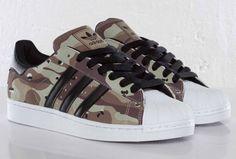 adidas Originals Superstar II – Camo...WANT THESE!!!