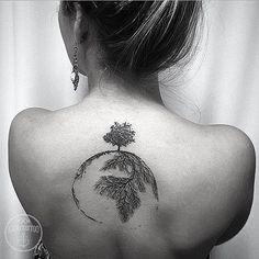 Repost . . Contato para orçamento e agendamento no no tel 27 999805879 Com Bruno de segunda a sexta de 8 as 18 hs . Snap: Kadutattoo . #kadutattoo #tattoo #tattoos #tattoo2me #tatuagem #tatuagens #natureza #tree #world #world #árvore #life #vida #love