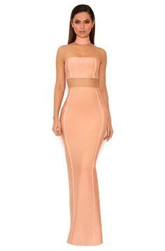 2f64ba51bc31 ... Max Dresses : 'Leonetta' Blush Shimmer Backless Maxi Dress. See more.  HouseofCB - Clothing - Safe, Secure Online Shopping - Celeb Style At  HighStreet ...