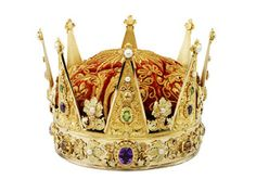 The Crown Prince's Coronet was made in Christiania (Oslo) in 1846 and is the only object of royal regalia produced in Norway. Royal Crowns, Royal Tiaras, Crown Royal, Tiaras And Crowns, The Crown, Trondheim, Royal Jewelry, Jewellery, Circlet