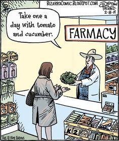 Let food be thy medicine and medicine be thy food. ~ Hippocrates