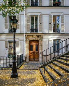 "lilyadoreparis: ""Montmartre in the fall. """