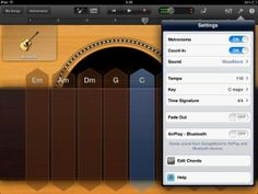 GarageBand for iPads - tips and ideas and why is it great for beginners.