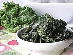 baked parmesan kale chips more kale chips snack ideas healthy snack ...