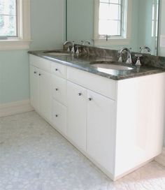 Merveilleux Bathroom Bathroom Vanity Cabinet Color White And Large Mirrors Look Simple  Too Trendy Bathroom Vanity Cabinet