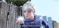 Jack Frost in animated movie Rise of the Guardians