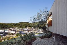 The house positions itself in Okayama Prefecture near Seto Inland Sea. The site is located on a terraced mountain hill that was developed as a residential land. The family is consisted of a married couple and a child. We considered a new way of...