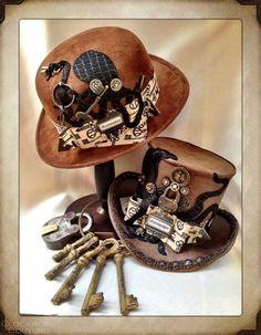 thekey master& the gatekeeper hats by LadyBHats