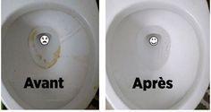 Voici comment avoir des toilettes luisantes sans effort !:
