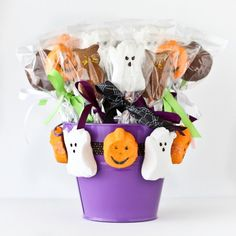 I have some fun new recipes that I developed for the great folks over at PEEPS using their delicious Halloween PEEPS. You can head over to the PEEPS site to check out a few of my treats (as well as many other great recipes and ideas). PEEPS Chocolate Mousse Dessert Jars. These are simple to click to read more