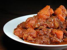 Moroccan Vegetarian Sweet Potato Stew