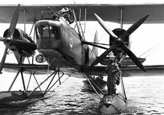 The Heinkel He 59 was a German biplane designed in 1930 resulting from a requirement for a torpedo bomber and reconnaissance aircraft able to operate with equal facility on wheeled landing gear or twin-floats.