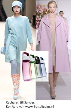 Cacharel, Jill Sander, winter collection 2012 2013, with KOR Aura
