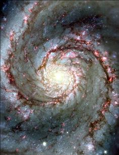 The Whirpool Galaxy (also known as Messier 51a, M51a, or NGC 5194) is an interacting grand-design spiral galaxy that is estimated to be 23 ± 4 million light-years from the Milky Way Galaxy in the constellation Canes Venatici.