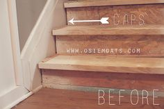 Check out PART TWO of our DIY $50 stair makeover at OSIE MOATS.   www.osiemoats.com    https://www.facebook.com/pages/Osie-Moats/360599210662568