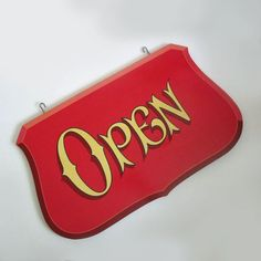 XL Handpainted Open / Closed Sign