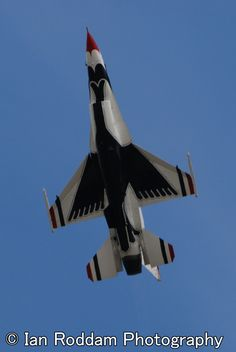 F-16C, Thunderbird, underside