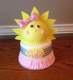 You are my sunshine/baby shower cake