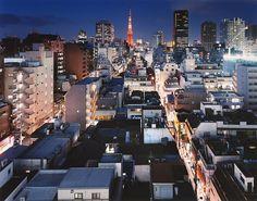tokyo nuit sato shintaro 02 Tokyo la nuit par Sato Shintaro  photo art