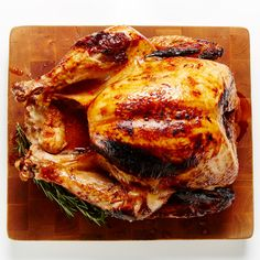 Our turkey, roasted in an oven bag, not only cooks in half the time of traditional recipes but also has twice the moistness and flavor. #BiteMeMore #turkey #recipe