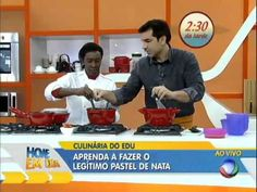 Hoje em dia Receita de Portugal: Aprenda a fazer pastéis de nata 15/08/2013 - YouTube