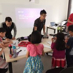 Our free Robotics Workshop for 5-8 year olds is now going on at The Keys Academy! #robotics #technology #3Dprinting #education #singapore by thekeysacademy