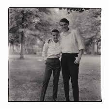Diane Arbus, Two Friends in the Park, N.Y.C. (1965) Portrait