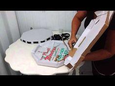 Bandeja provençal de papelão - YouTube