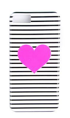Heart Stripe iPhone 5/5S Case