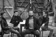 The Men of Poldark: Jack Farthing, Luke Norris, Aidan Turner, Kyle Soller, Aidan Turner Poldark, Ross Poldark, Poldark Cast, Poldark 2015, Kyle Soller, Jack Farthing, Luke Norris, Masterpiece Theater, Lisa